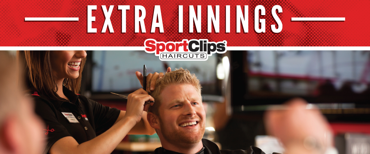 The Sport Clips Haircuts of Milford/Miami Township Extra Innings Offerings